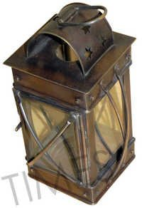 Antique Brass Lantern