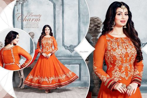 Buy Designer Anarkali Suit Shopping Online
