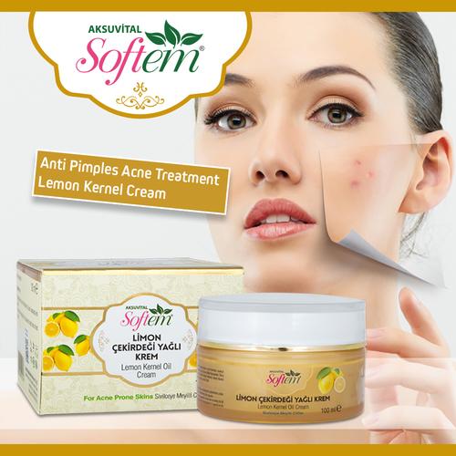 Anti acne cream Lemon