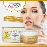 Anti acne cream Lemon