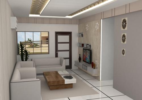 Living Room TV Panel Design