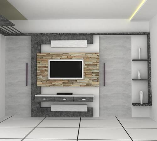Led Tv Wall Mount Design Service In Vadodara