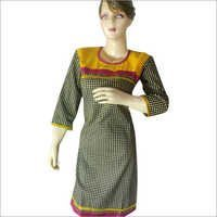 Cotton Chicken Patch Kurti