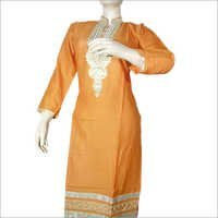 Reyon Patch Work Kurti
