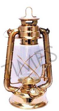 Brass Hurricane Lantern