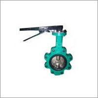 Lug Butterfly Valve With Two Stems