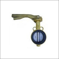 Aluminum Wafer Butterfly Valve