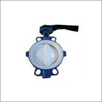 Custom Full PTFE Coated Wafer Butterfly Valve
