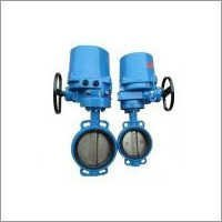 Electric Wafer Butterfly Valve For Water Gas Oil