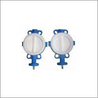 Full PTFE Coated Wafer Butterfly Valve