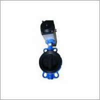 Pneumatic Actuator A Type Wafer Butterfly Valve