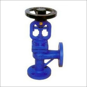 DIN Angle Bellows Seal Globe Valve