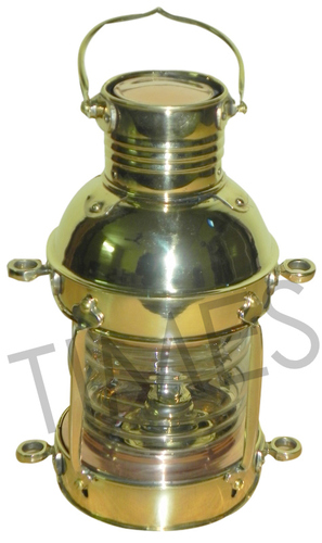Brass Chrome Lantern