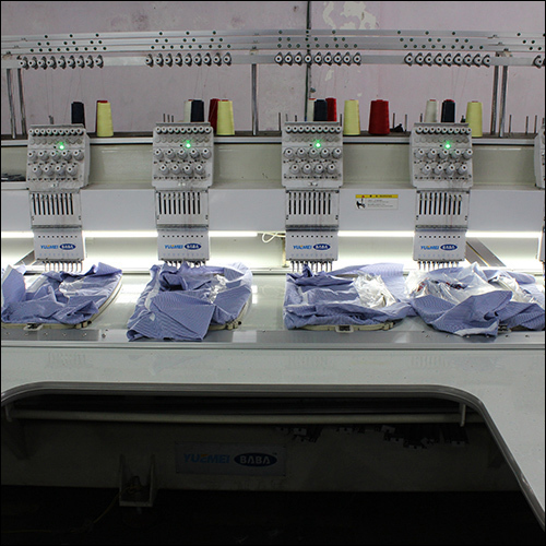 Multi Thread Embroidery Machine