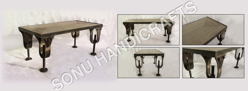 Classic Industrial Table