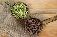 Green Cardamom and Black Cardamom