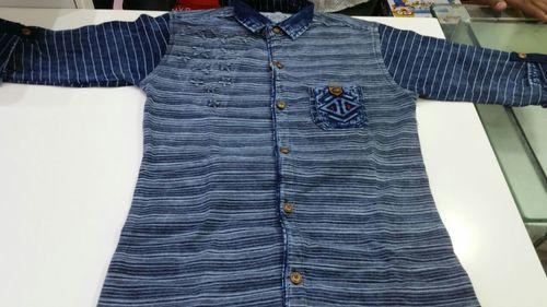 fancy denim shirt