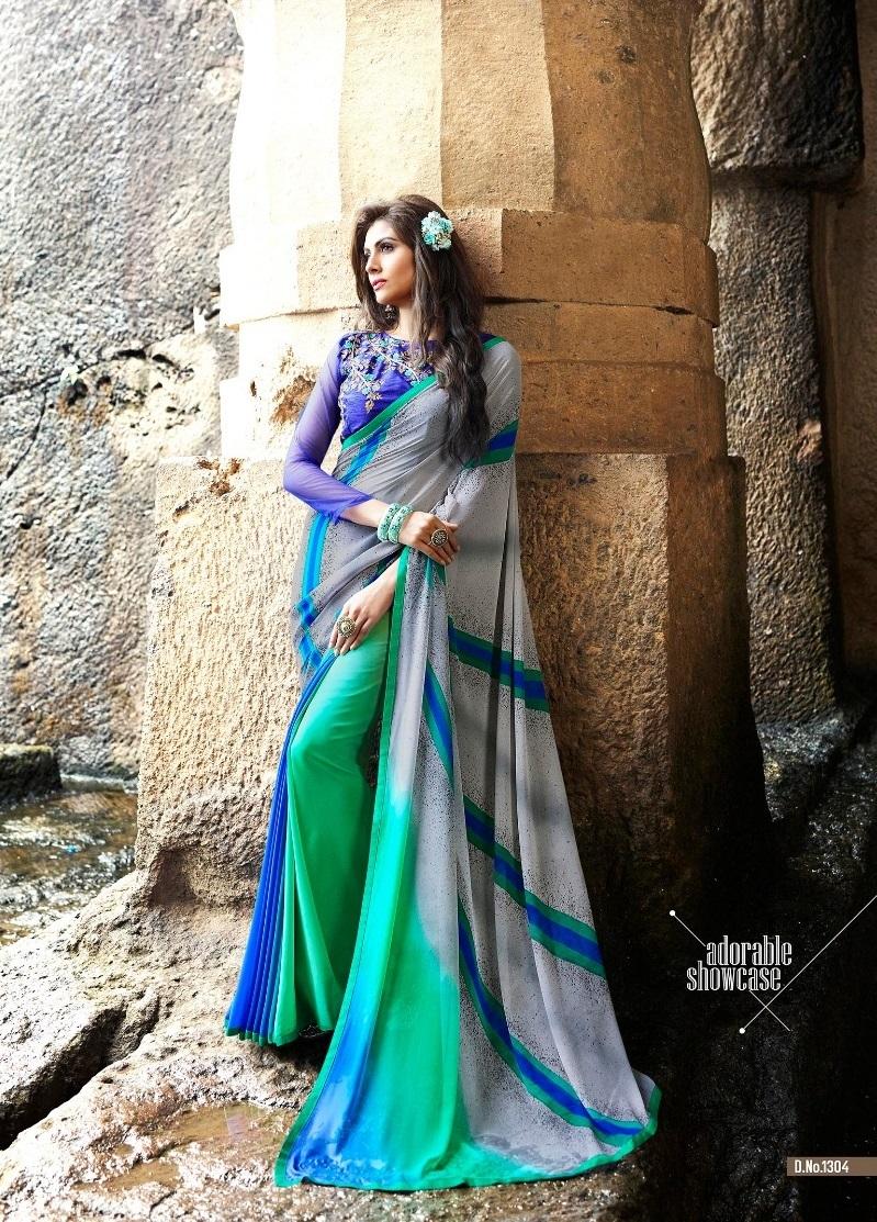 Indian Designer Georgette Sarees
