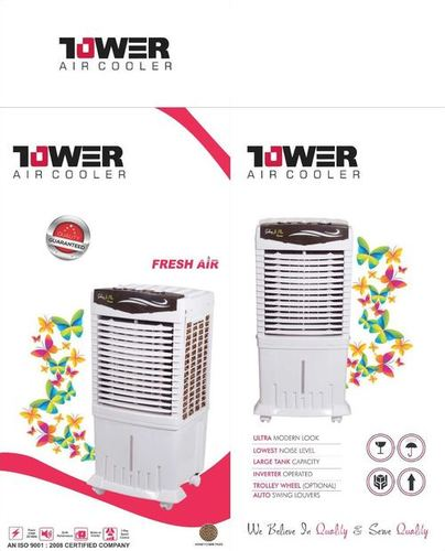 Room Plastic Tower Air Cooler