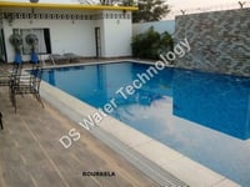 Blue Glass Pool Tile