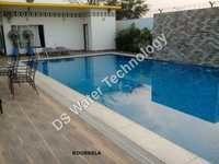 Blue Glass Pool Tile