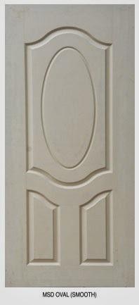 White Skin Wooden Door