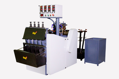 Glazze HD-4 Stainless Steel Scrubber Making Machine