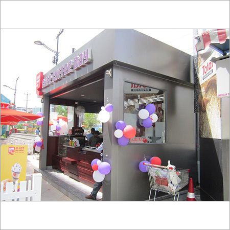 Coffee Shop Kiosk