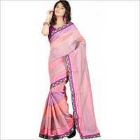 Self Design Cotton Saree