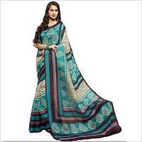 Printed Cotton Silk Saree