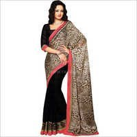 Animal Printed Saree