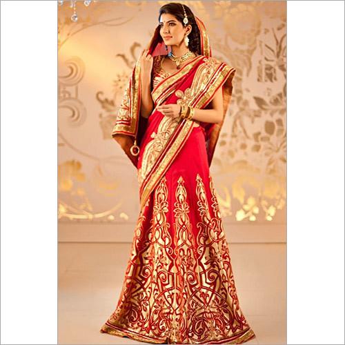 Red Kerala Wedding Saree