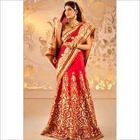 Red Kerala Wedding Saree