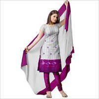 Jamkii Work Synthetic Churidar Churidar Suit