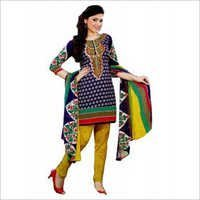 Multi-Colour Synthetic Chudidar And Patiyala Dress Materials