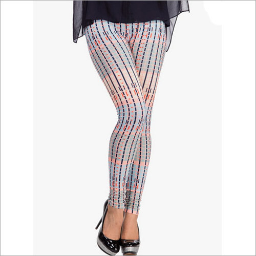 Multicoloured Printed Leggings