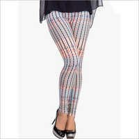 Multicoloured Printed Leggings