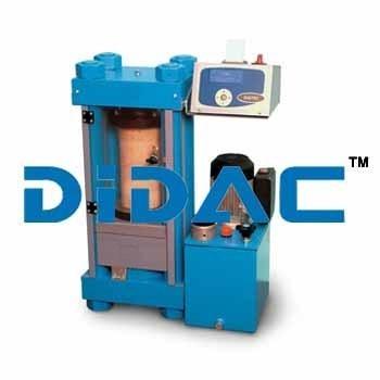 Concrete Compression Machine 1500 KN Motorized Digitec