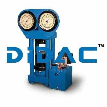 Concrete Compression Machine Motorized 2 Gauges