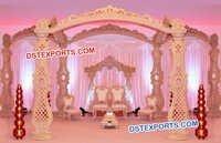 New Design Indian Wedding Wood Mandap
