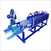 Roll forming shutter strip machine mannual cutting