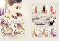 Georgette Suits With Siffon Dupatta