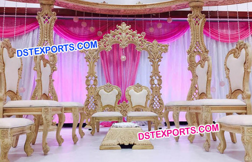 New Design Wedding Mandap Chairs Set