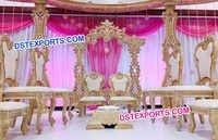 New Design Wedding Mandap Chairs Set