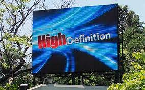 LED Advertising Display Hoarding Services
