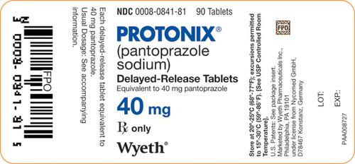 Generic Protonix Tablets 40 mg
