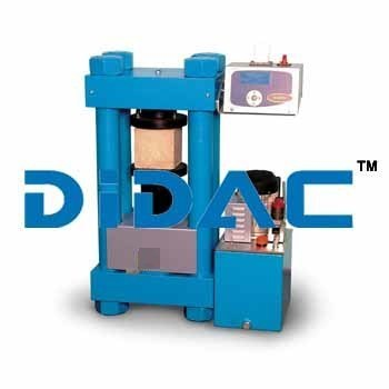 Compression Testing Machines To Test Cylinders And Cubes 2000 Kn