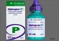 Alphagan Brimonidine Tartrate Sterile
