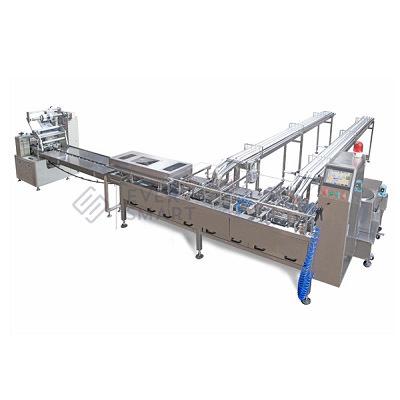 Double Lane Sandwiching Machine With Packaging