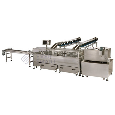 Double Lane Double Color Sandwiching Machine